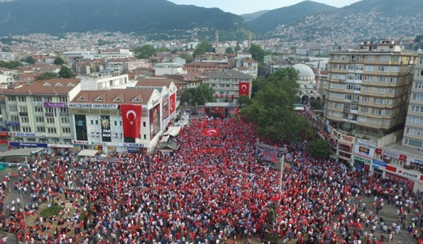 15 Temmuz'da Bursa'da trafiğe ayar