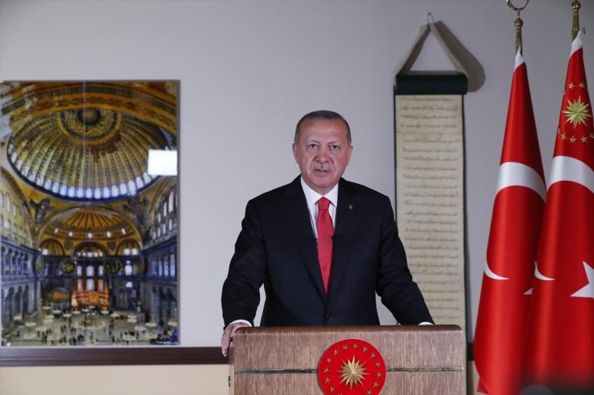 """""""24 Temmuz Cuma günü cuma namazı ile birlikte Ayasofya'yı ibadete açmayı planlıyoruz"""""""