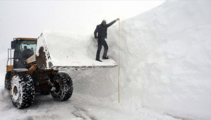 5 metre karla mücadele…