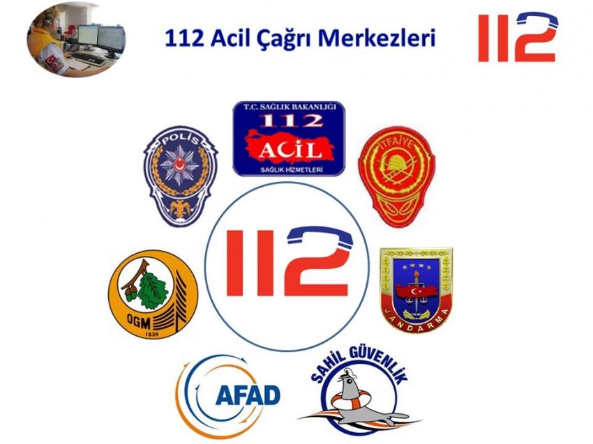 Acil hizmet numaraları 112'de birleştirilecek