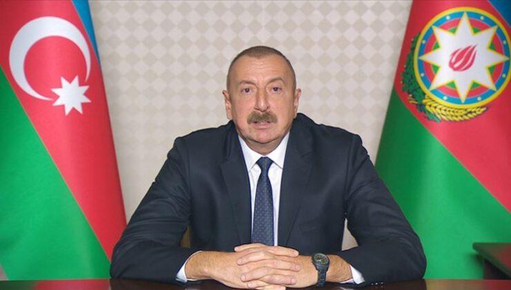 """Aliyev: """"Bu anlaşma bizim şanlı zaferimizdir"""""""