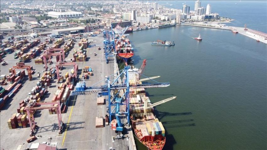 Alsancak Limanı yeniden Ro-Ro operasyonlarına açıldı
