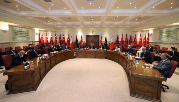 Ankara'da Libya için 3'lü toplantı