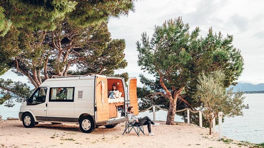 Artık moda 'karavan tatili'