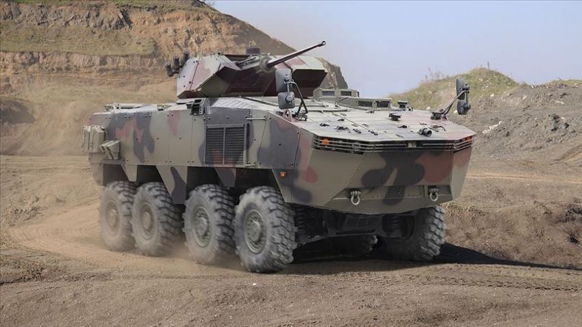 Askeri araç ihracatında 8×8 performans