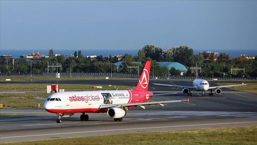 Atlas Global Havayolları tarifeli uçuşlarını 21 Aralık'a kadar durdurdu
