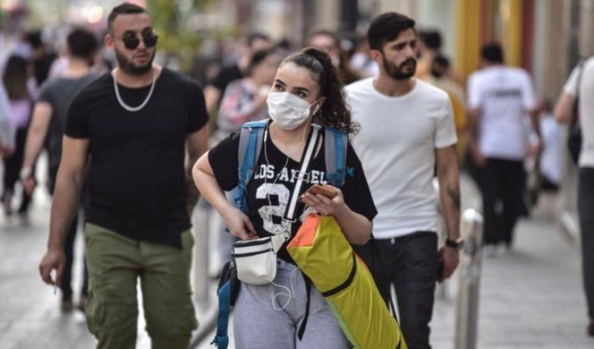 Türkiye'de virüsten can kaybı 5 bin 891 oldu