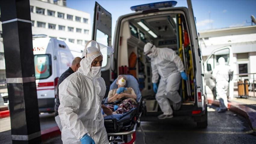 Türkiye'de virüsten can kaybı 6 bin 837 oldu