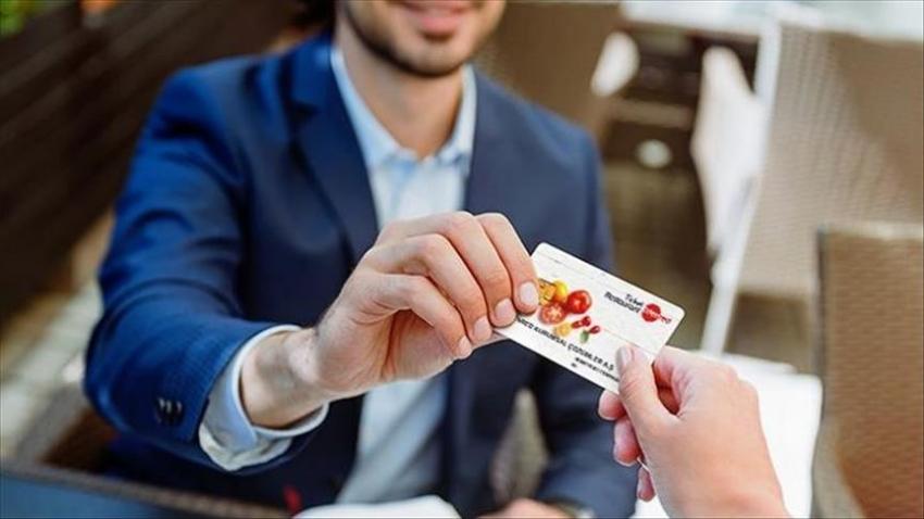Türkiye'de yemek kartı kullanım oranı yüzde 13 seviyesinde