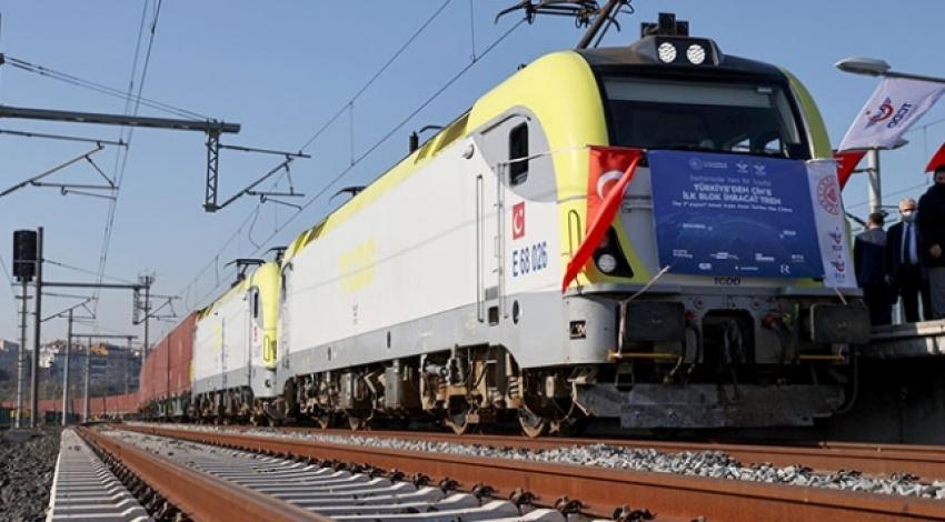 Türkiye'den Çin'e ikinci ihracat yük treni de yola çıktı