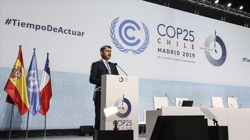Türkiye iklim değişikliğiyle mücadelede daha fazlasını yapmaya kararlıdır
