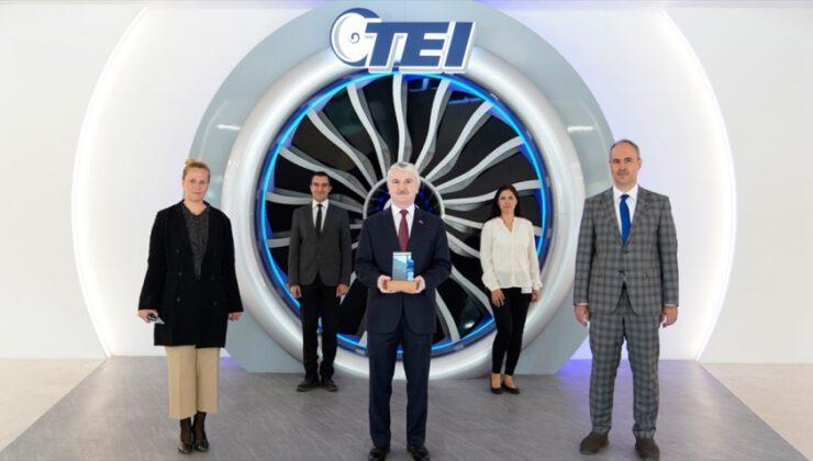 Türkiye'nin havacılık motor merkezi TEI'ye özel ödül