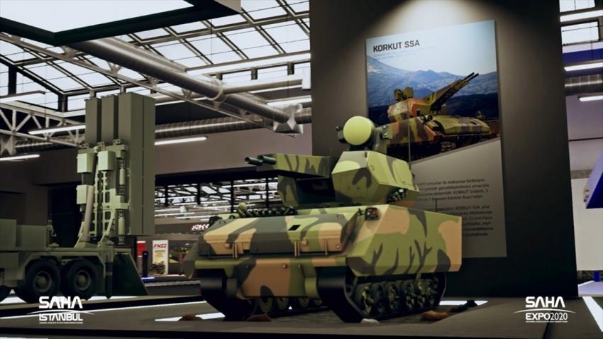 Türkiye'nin savunmadaki gücü 'sanal fuara' taşındı