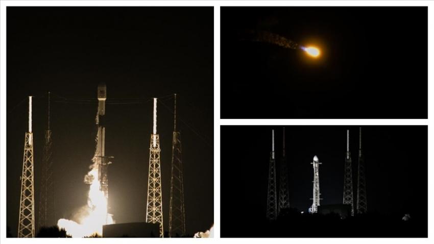 TÜRKSAT 5A uydusu uzaya fırlatıldı, 35 dakika sonra ilk sinyal alındı