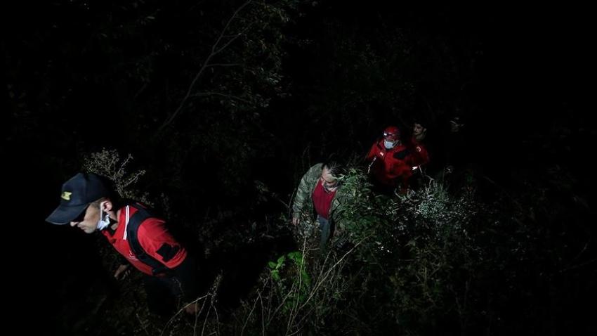 Uludağ'ın eteklerinde kaybolan 4 kişi kurtarıldı