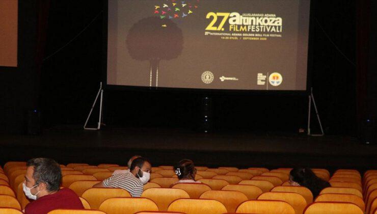 Uluslararası Adana Altın Koza Film Festivali başladı