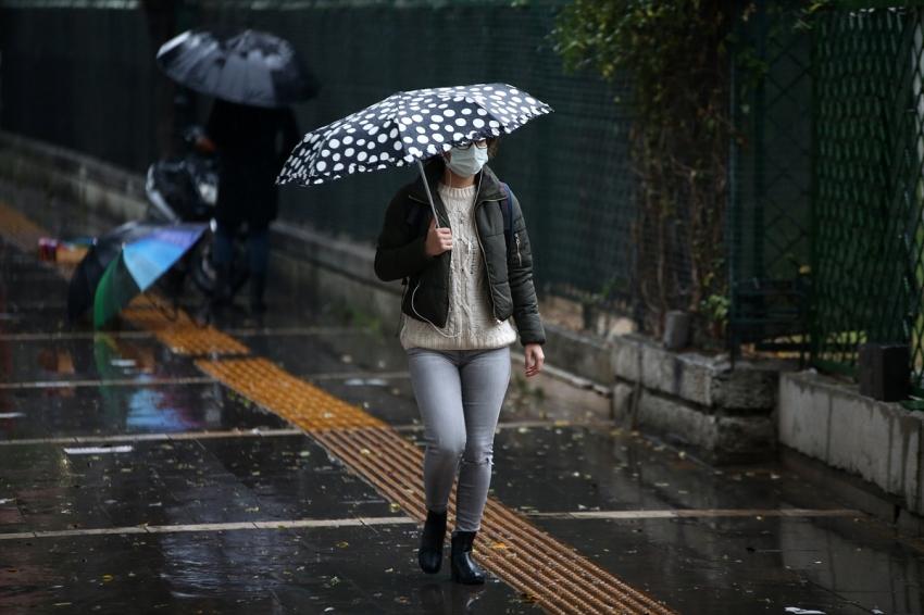 Valilikten Bursa'ya yağış uyarısı!