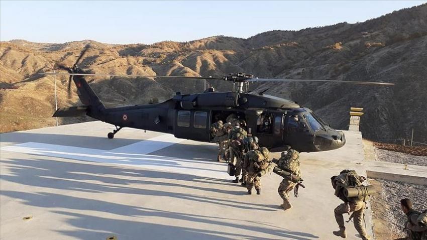 'Yıldırım-15 Mutki-Sarpkaya' operasyonu