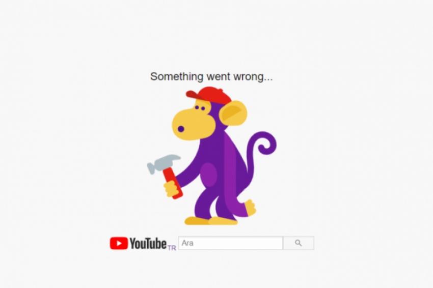 YouTube'a erişim sağlanamıyor