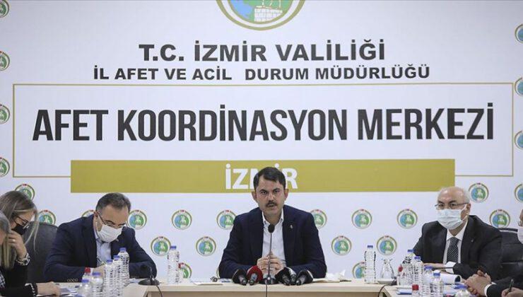 Bakan Kurum: İzmir'de konutları 1 yıl içinde teslim edeceğiz