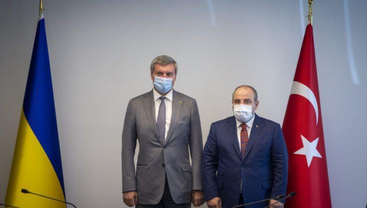 """Bakan Varank'tan Ukrayna'ya """"birlikte teknoloji üretme"""" çağrısı:"""