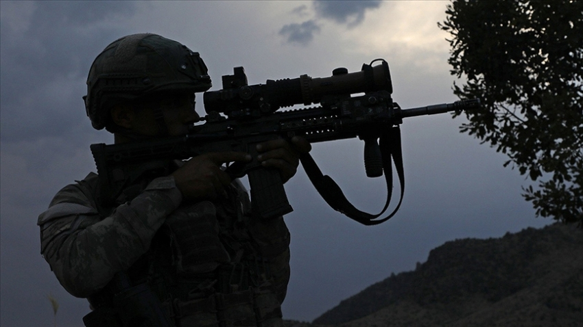 Barış Pınarı bölgesine sızma girişiminde bulunan 7 terörist etkisiz hale getirildi