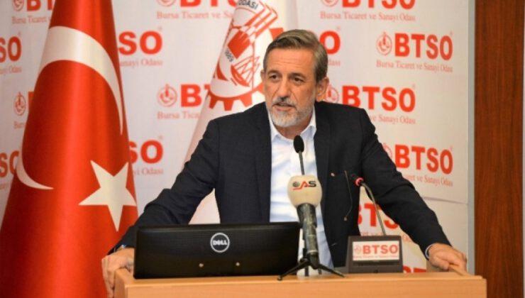 """BTSO Başkanı Burkay: """"Pandemiye rağmen kurulan şirket sayısı artıyor"""