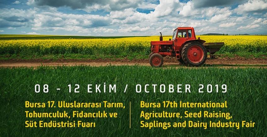 Bursa'da eş zamanlı tarım ve hayvancılık fuarı