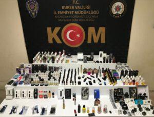 Bursa'da Gümrük Kaçağı Operasyonu