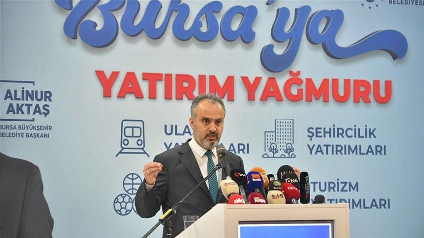 Bursa'da hafif raylı sistem Şehir Hastanesine kadar uzatılacak