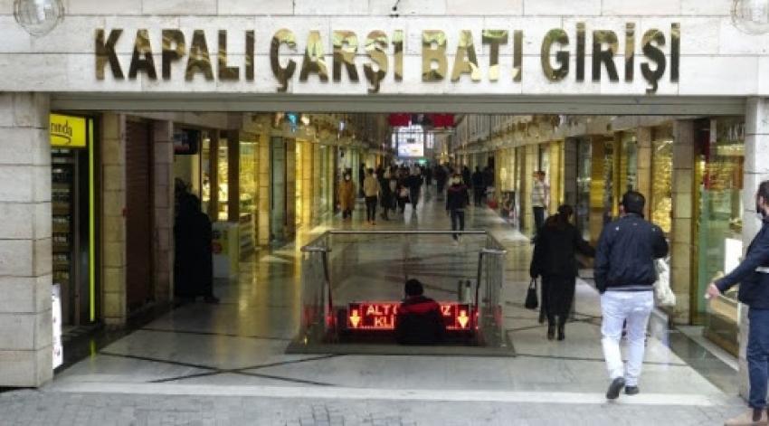 Bursa'da kapalı çarşı tekrar açıldı