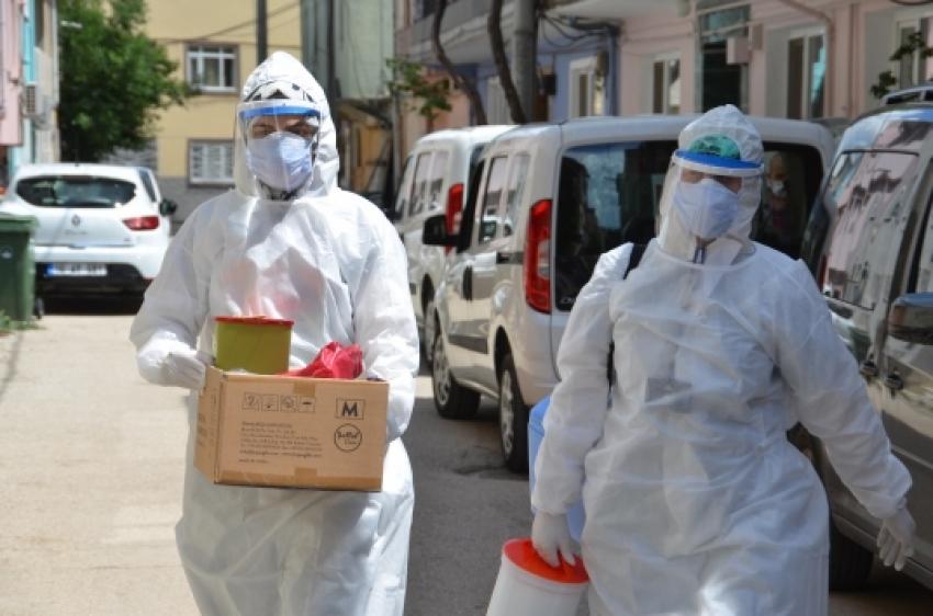 """Bursa'da koronavirüs tespitine yönelik """"Toplum Tarama Çalışması"""" başlatıldı"""