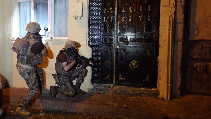 Bursa'da 'şafak' operasyonu