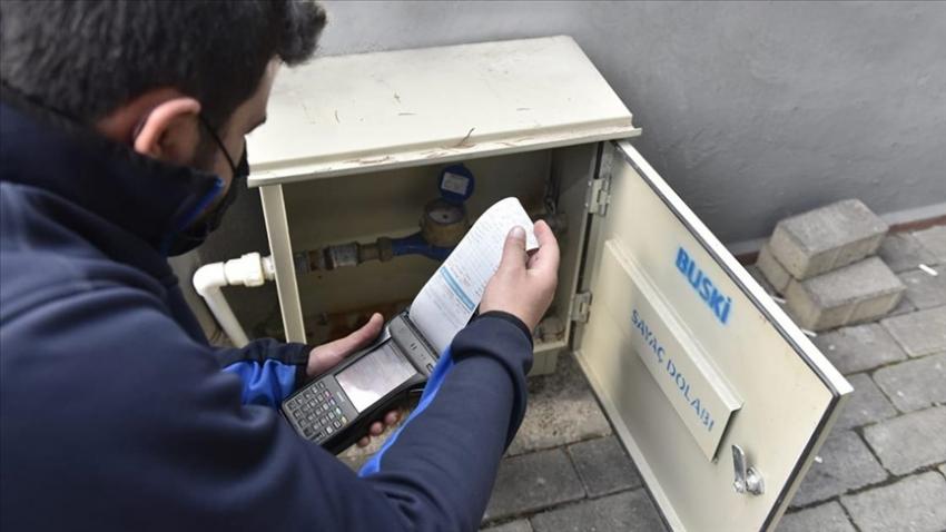 Bursa'da salgın nedeniyle iş yerlerini kapatan esnafın su faturalarına indirim