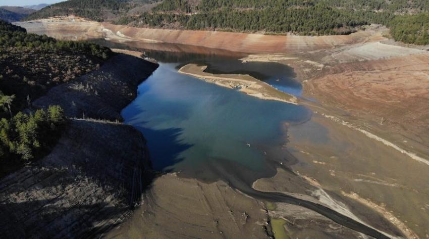 Bursa'da su seviyesi yüzde 5'e düştü!