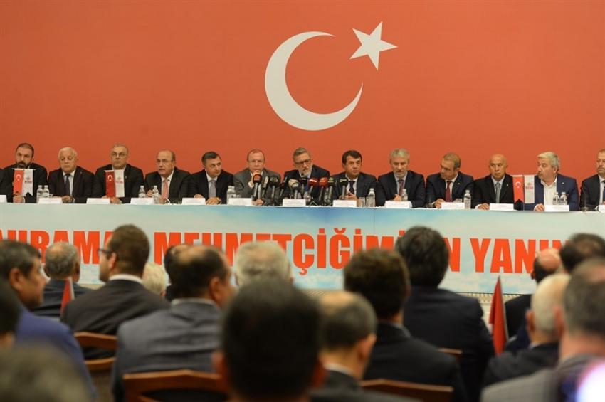 Bursa İş Dünyası Kahraman Mehmetçik İçin Tek Ses Tek Yürek