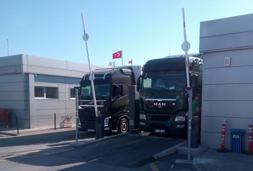 Bursa OSB Gümrüklü Tır Parkı'nda önlemler tamam!
