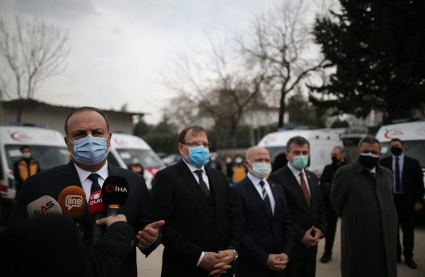 Bursa Valisi Canbolat'tan tedbir uyarısı: 'Gevşeme olduğunu gördüm'