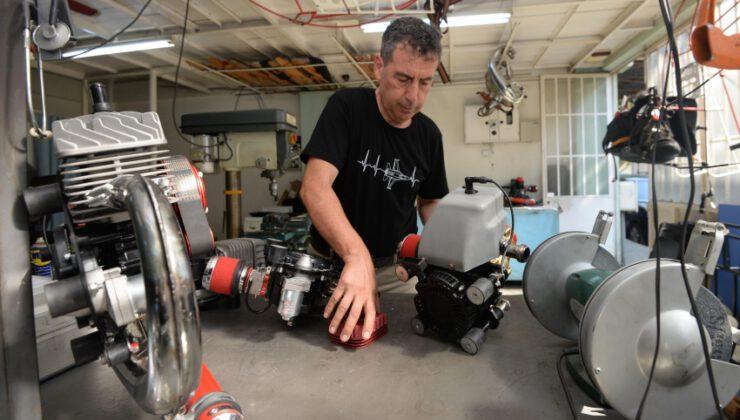 Bursalı Girişimci Yerli İmkanlarla Ürettiği Motorları Dünyaya İhraç Ediyor