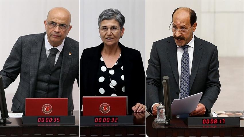 CHP'li Berberoğlu ile HDP'li Güven ve Farisoğulları'nın milletvekilliği düşürüldü