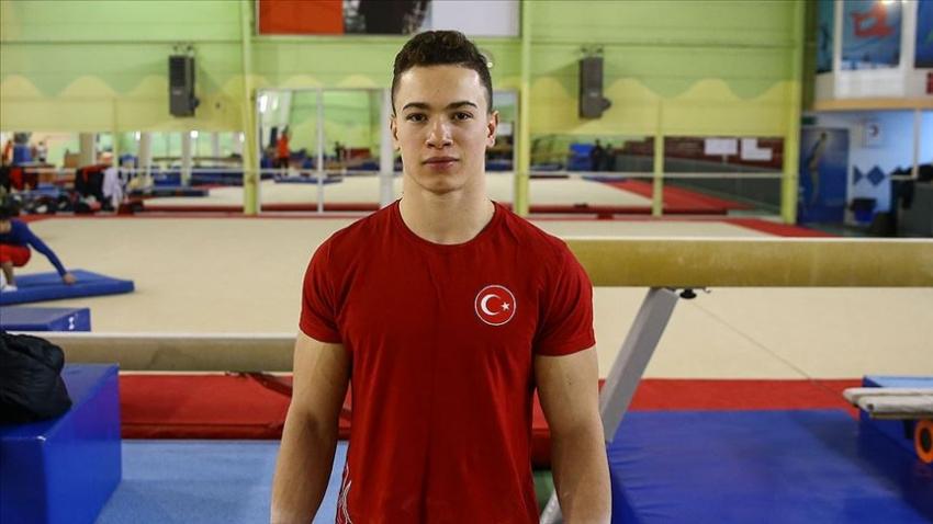 Cimnastikte Ahmet Önder'den gümüş madalya