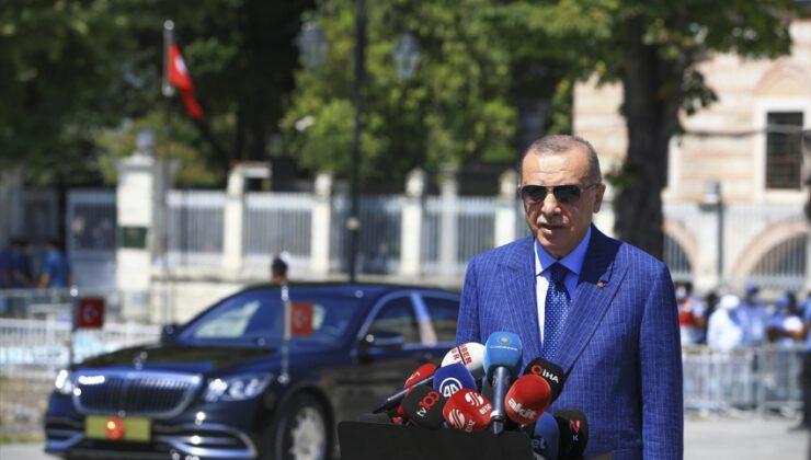 Cumhurbaşkanı Erdoğan'dan ekonomi mesajı