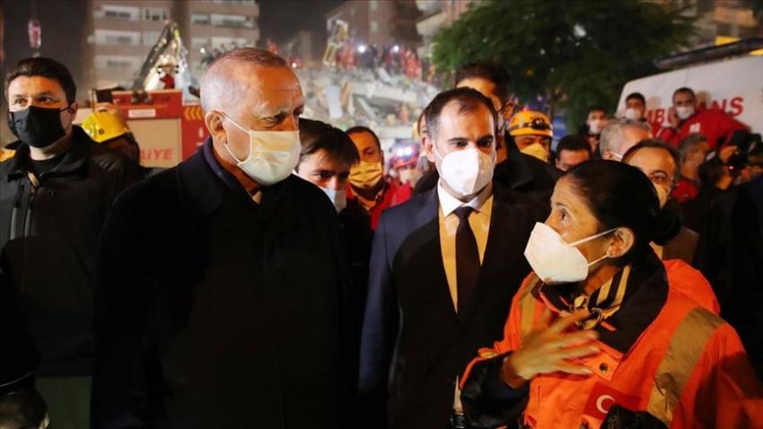 Cumhurbaşkanı Erdoğan deprem bölgesini ziyaret etti