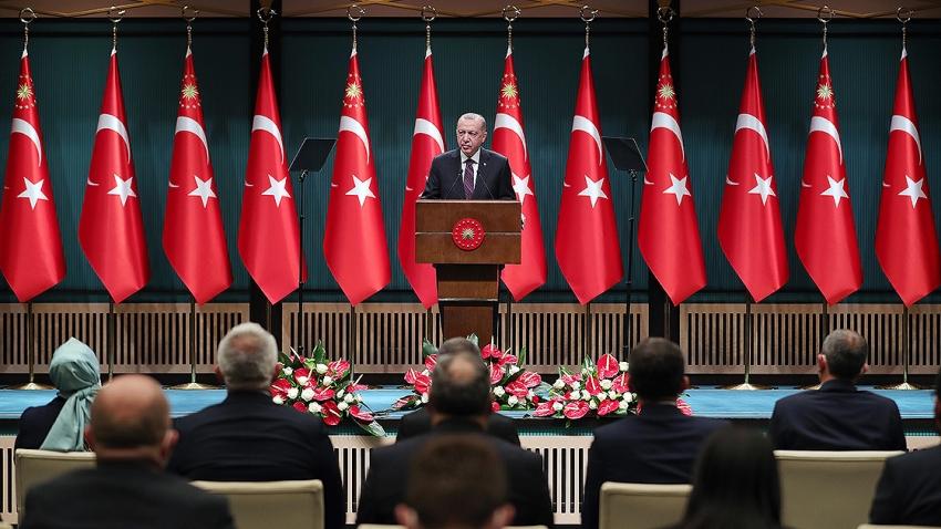 Cumhurbaşkanı Erdoğan: Hem Türkiye'nin hem İngiltere'nin kazanacağı yeni bir dönem başlıyor
