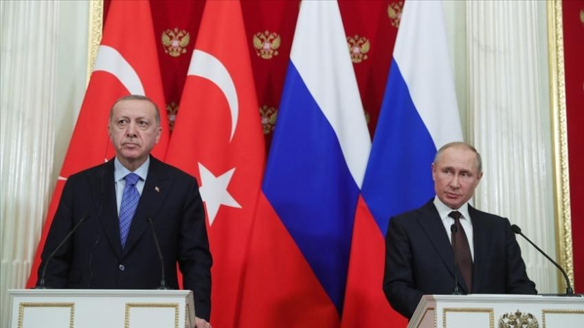 Cumhurbaşkanı Erdoğan ile Putin'den kritik görüşme