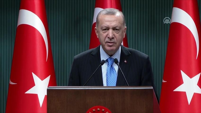 """Cumhurbaşkanı Erdoğan; """"Perşembe ya da Cuma aşılamaya başlayacağız"""""""