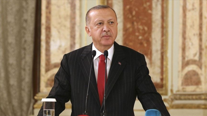 Cumhurbaşkanı Erdoğan: Şimdi biz kendi göbeğimizi kendimiz kesiyoruz, artık geri adım atmayacağız