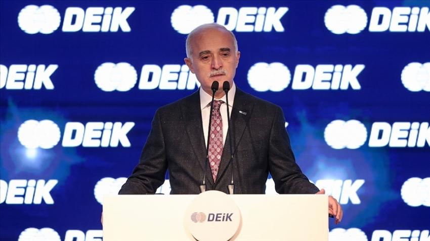 DEİK Başkanı Olpak: İş dünyası olarak bizlerin hedefi büyük