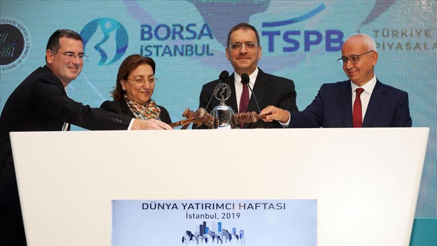 'Dünya Yatırımcı Haftası' gong töreniyle başladı