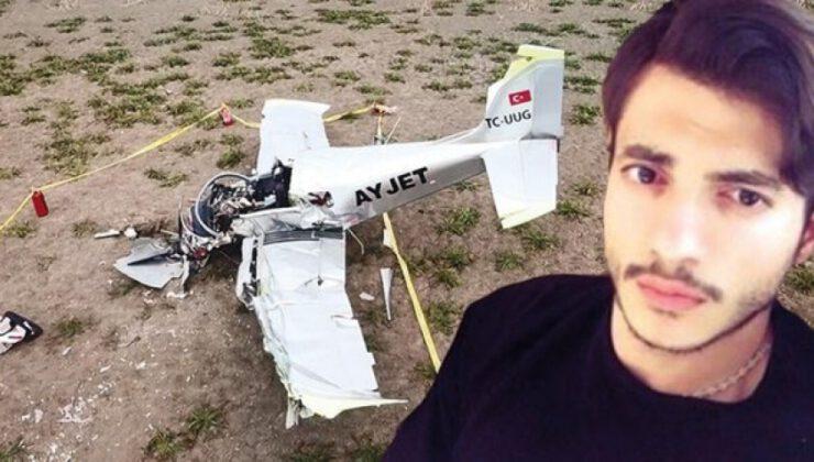 Düşen uçağın pilotu hayatını kaybetti